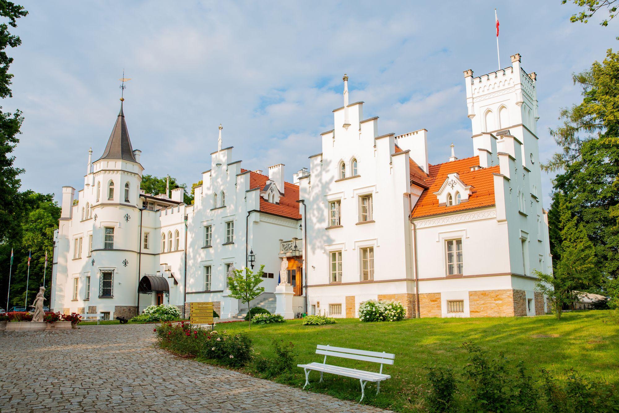 Widok pałacu