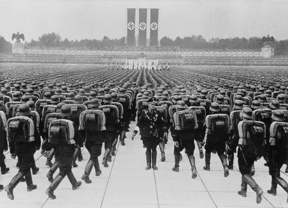 naziści norymberga