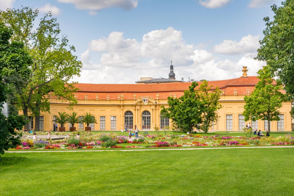 Erlangen widok pałacu