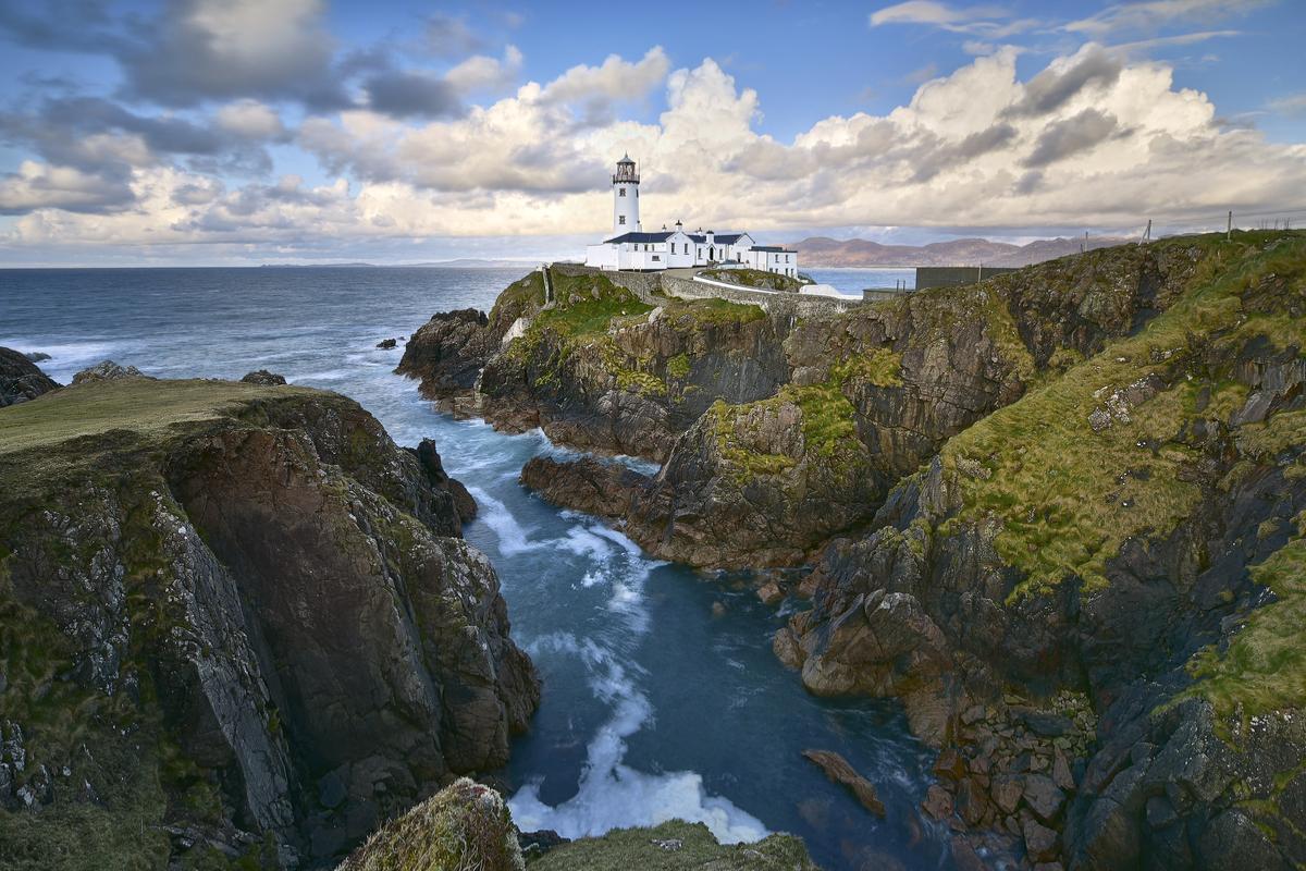 Irlandia północna wybrzeże