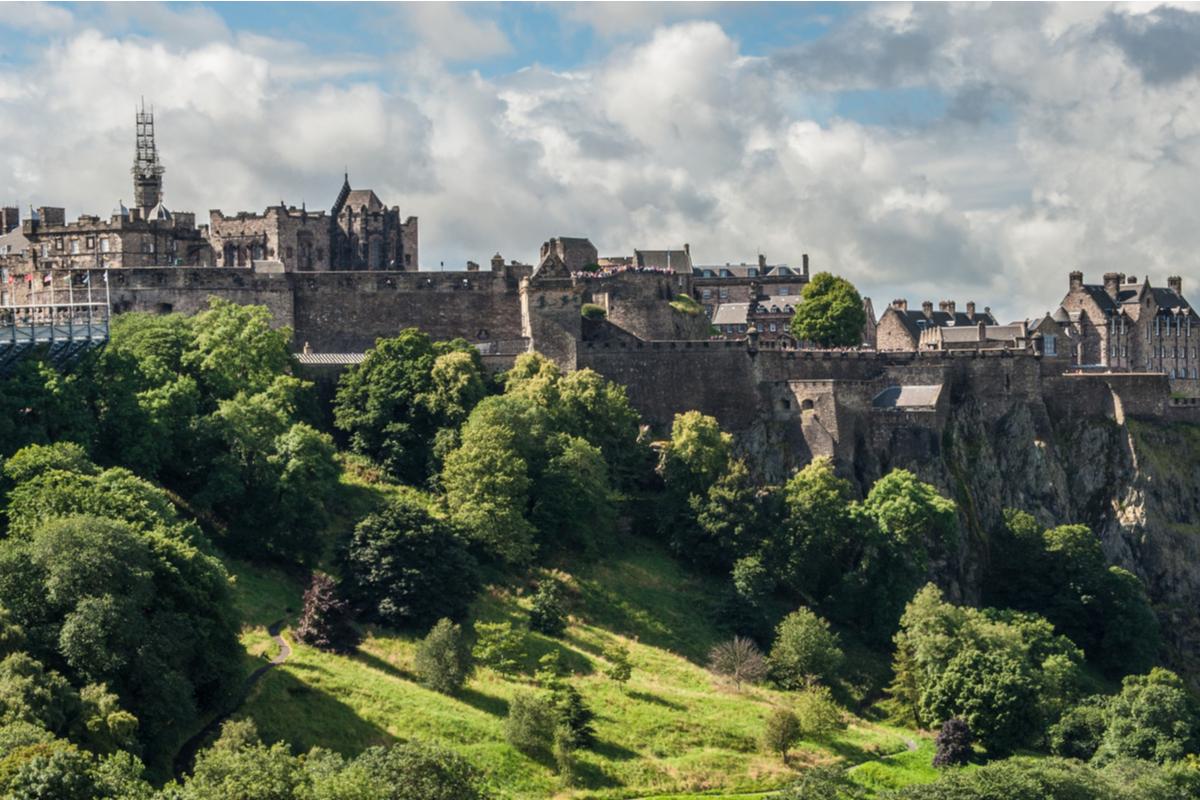 Edynburg zamek
