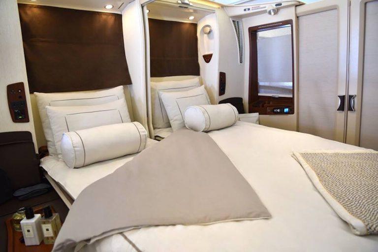 Wnętrze Airbusa A380