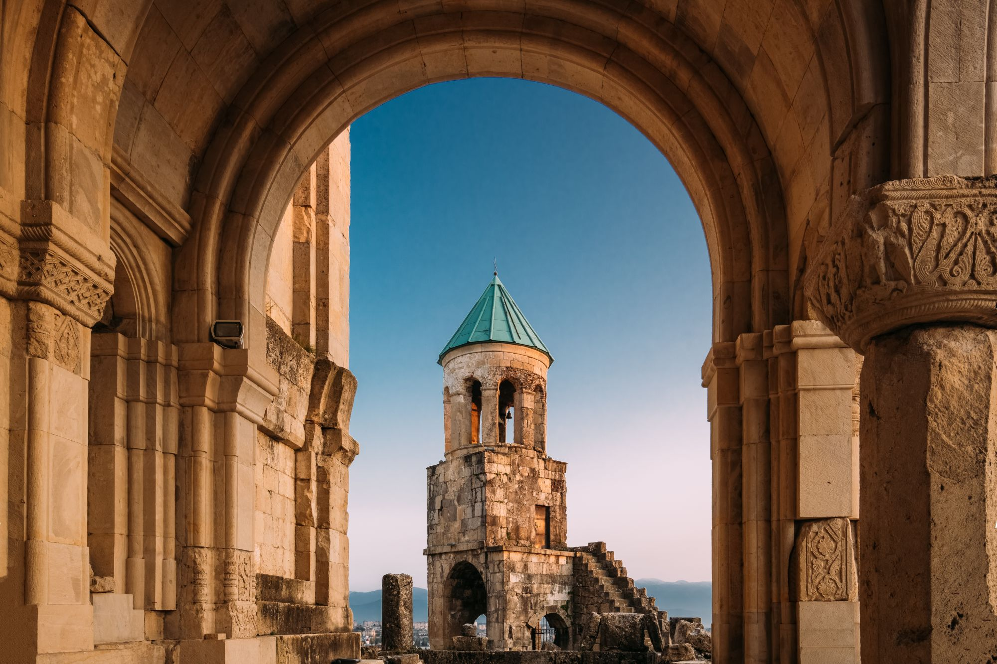 Kutaisi widok kościoła