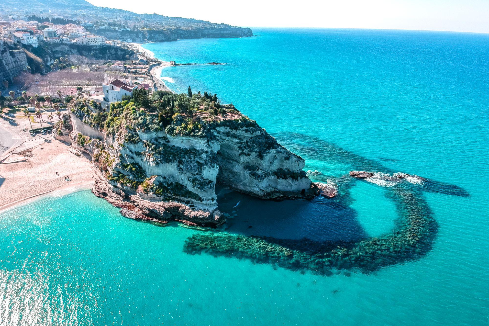 Lamezia Terme widok wybrzeża