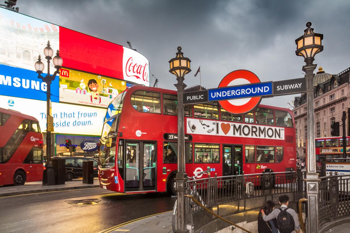 londyn picadliy circus