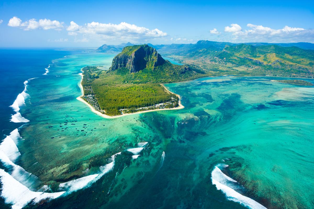 Mauritius wodospad
