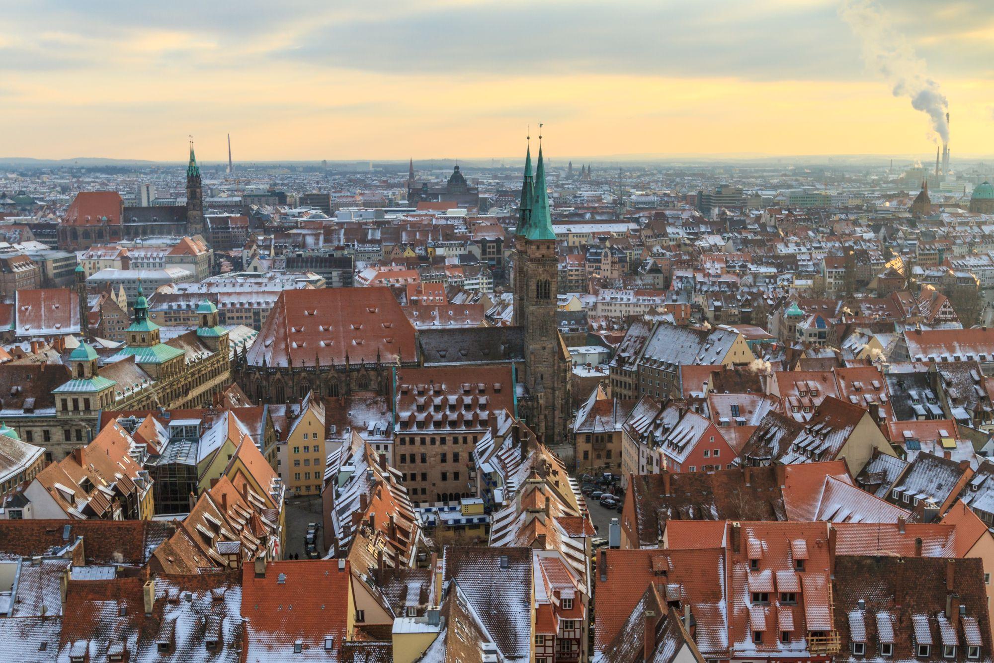Norymberga widok miasta