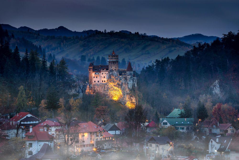 Zamek w Bran