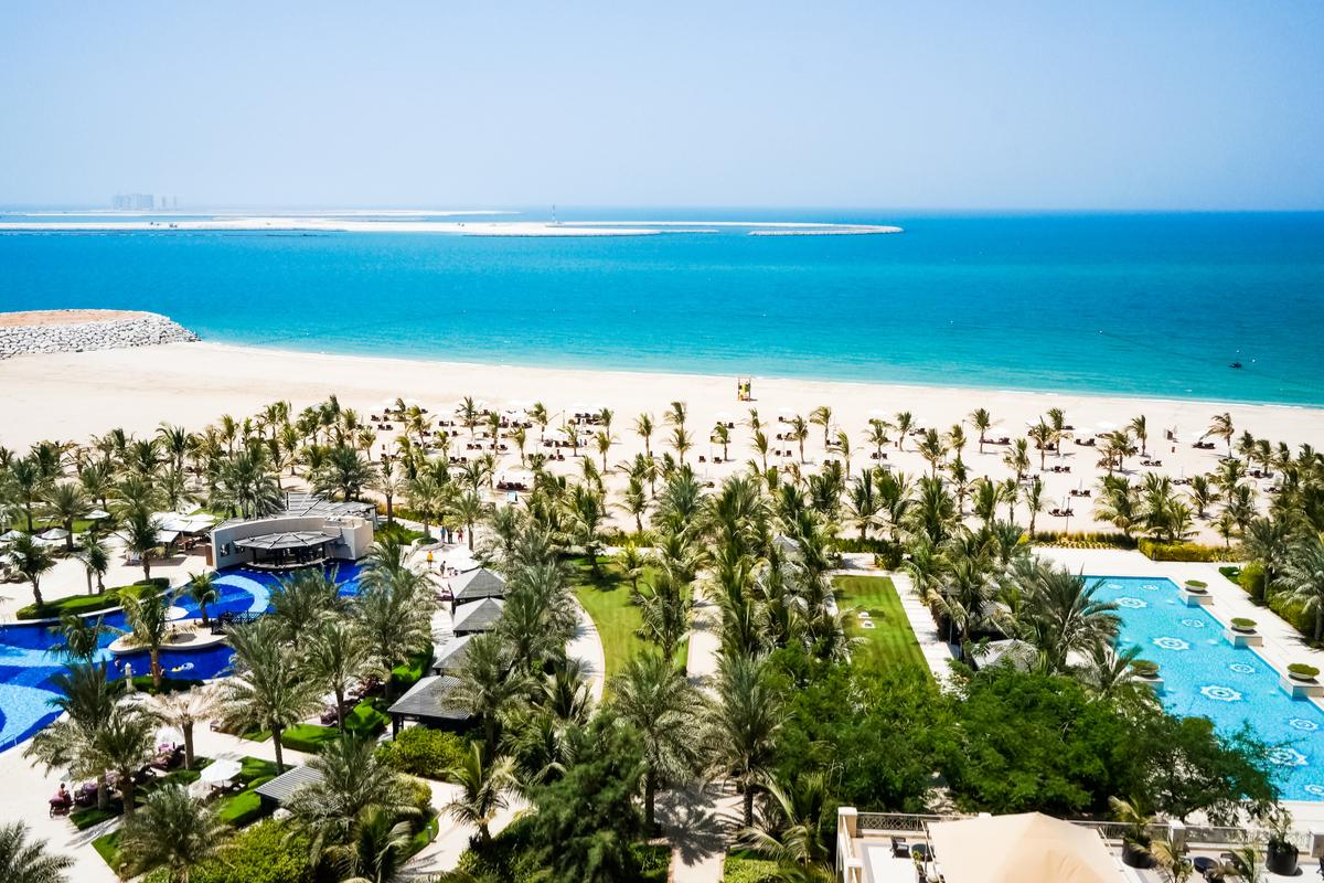 plaża w Ras Al-Khaimah