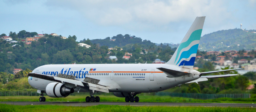 samolot EuroAtlantic Airways