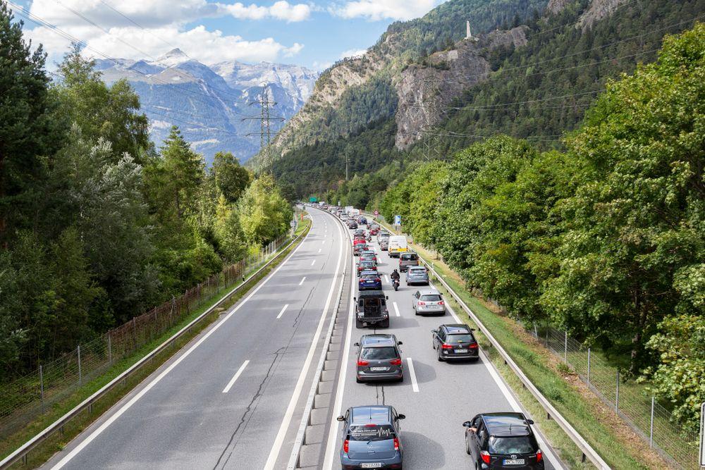 Autostrada w Szwajcarii