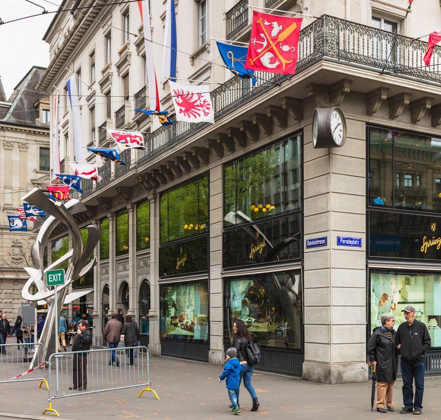 Sprungli Cafe w Zurychu