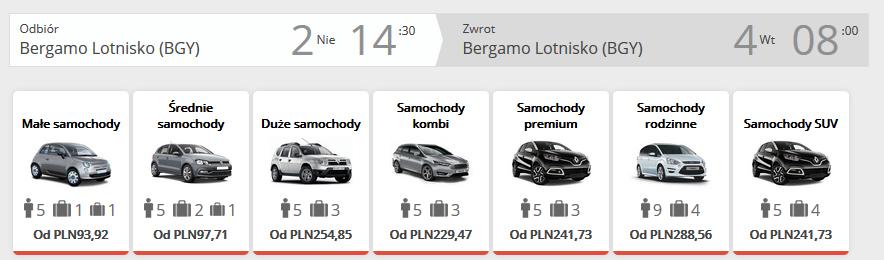 Bergamo auto