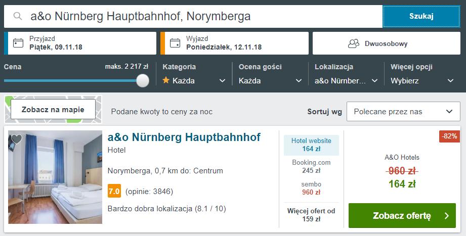 Norymberga hotel
