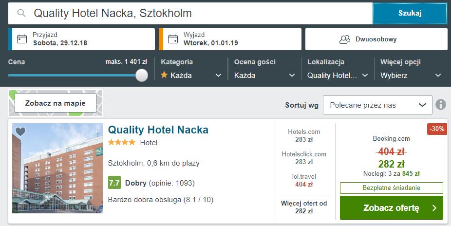Sztokholm hotel