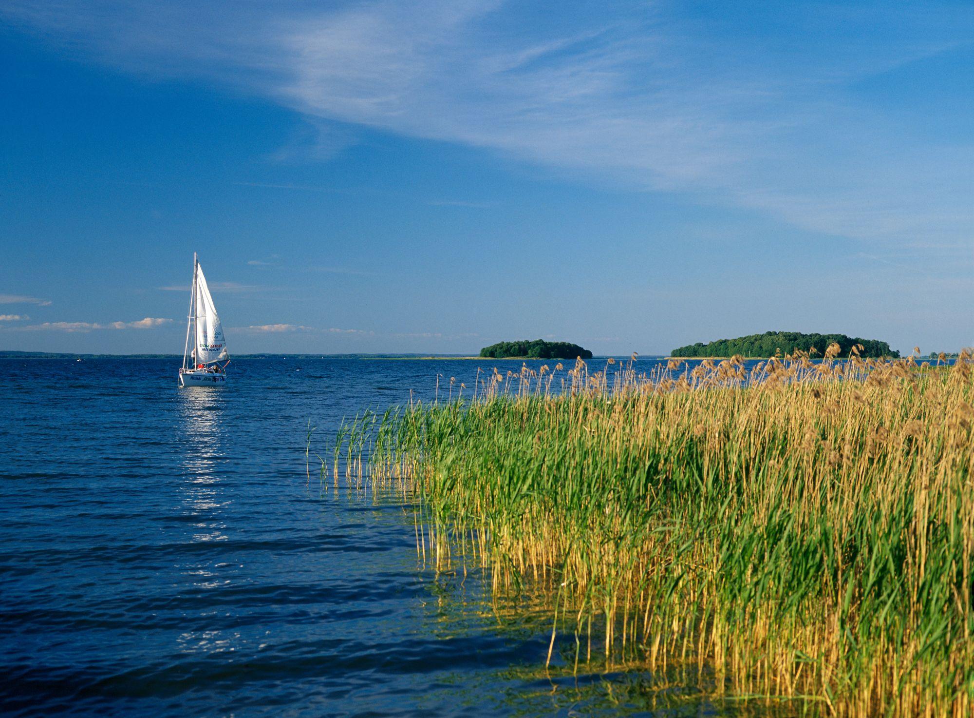 Mazury widok jeziora