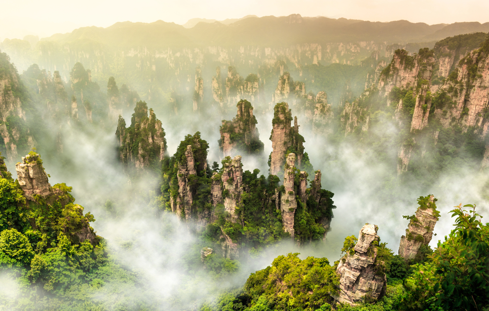 Zhangjiajie chiny