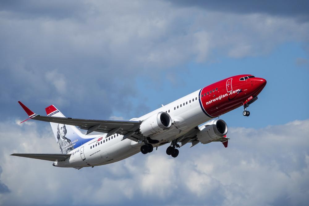 samolot Norwegian