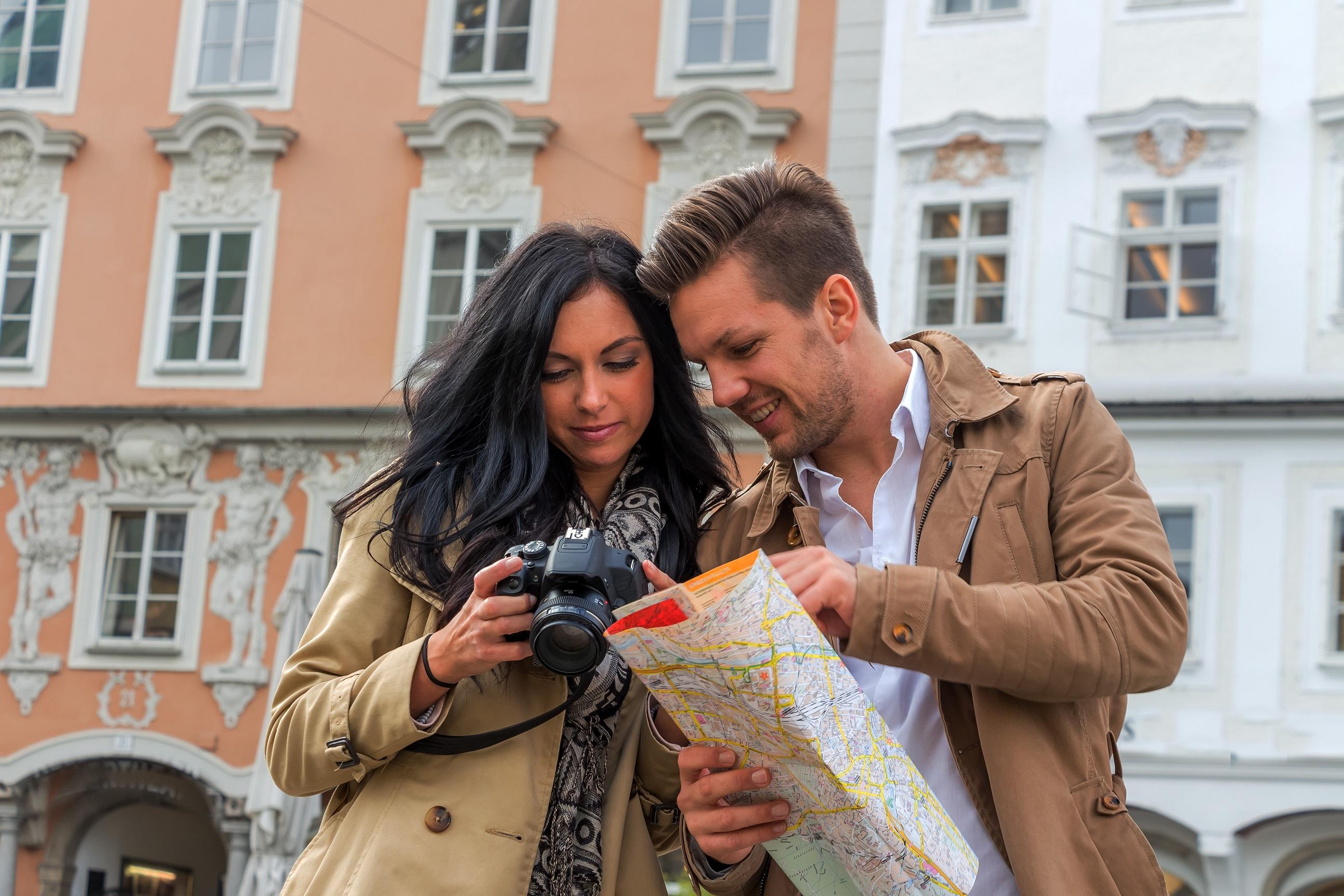 para turystów