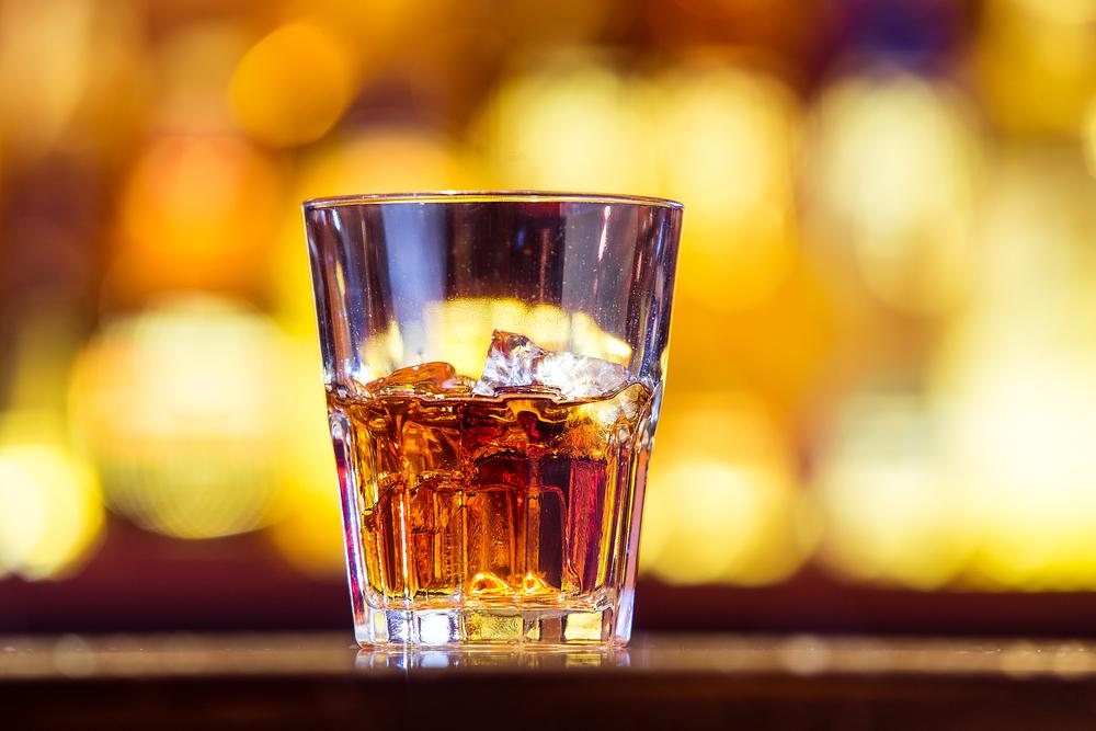 Szklanha whiskey
