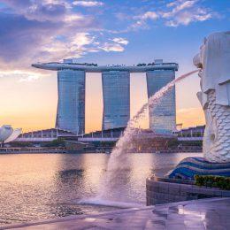 Singapur panorama miasta