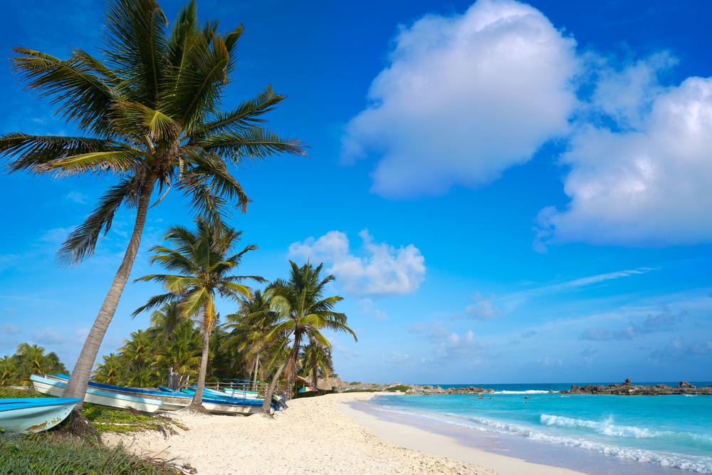 Meksyk widok plaży