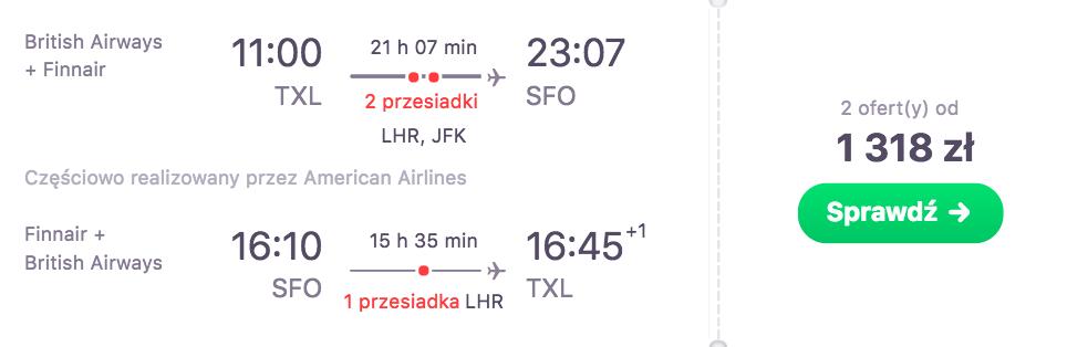 zarzerwuj loty do san francoscio