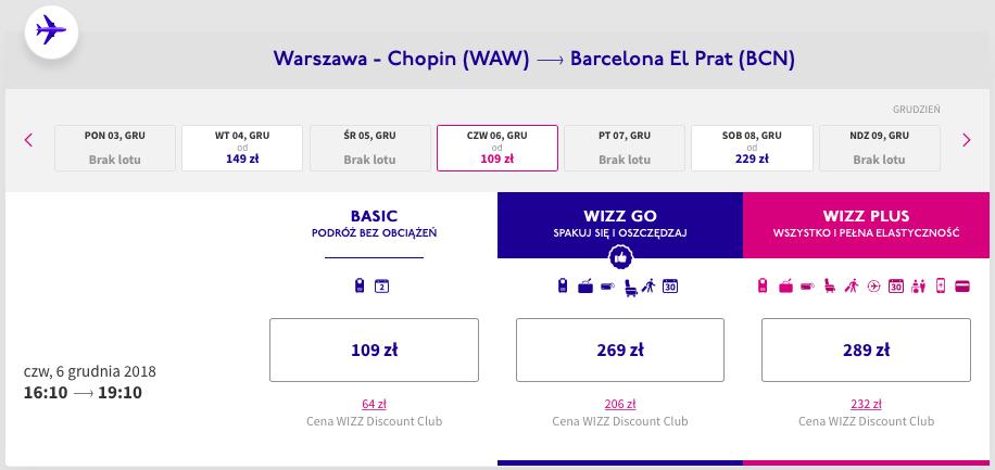 zarzerwuj loty do Barcelony