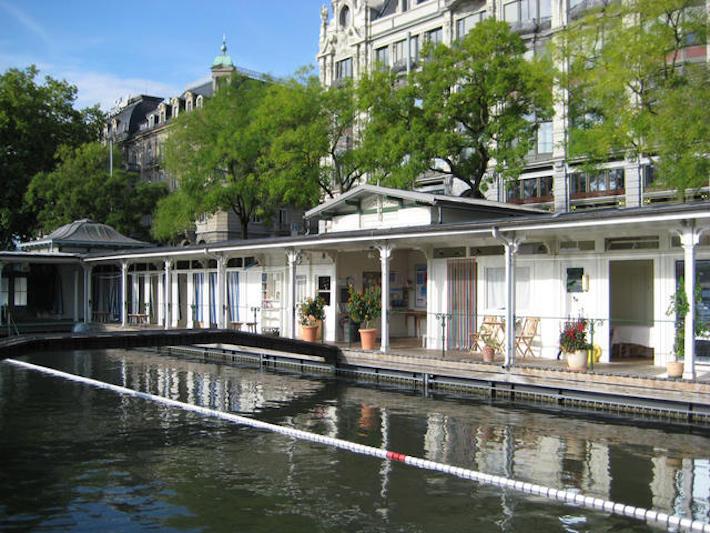 kąpielisko w Zurychu