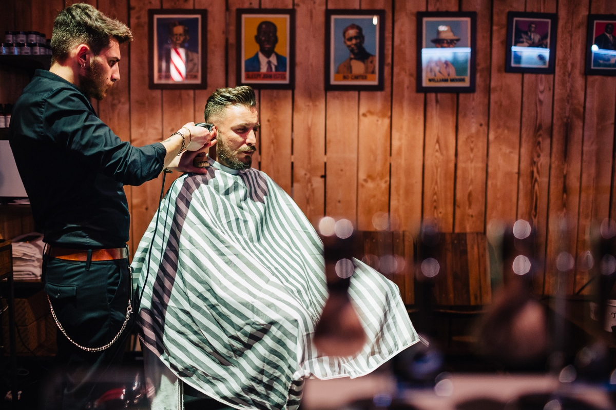 Barber shop Zurych