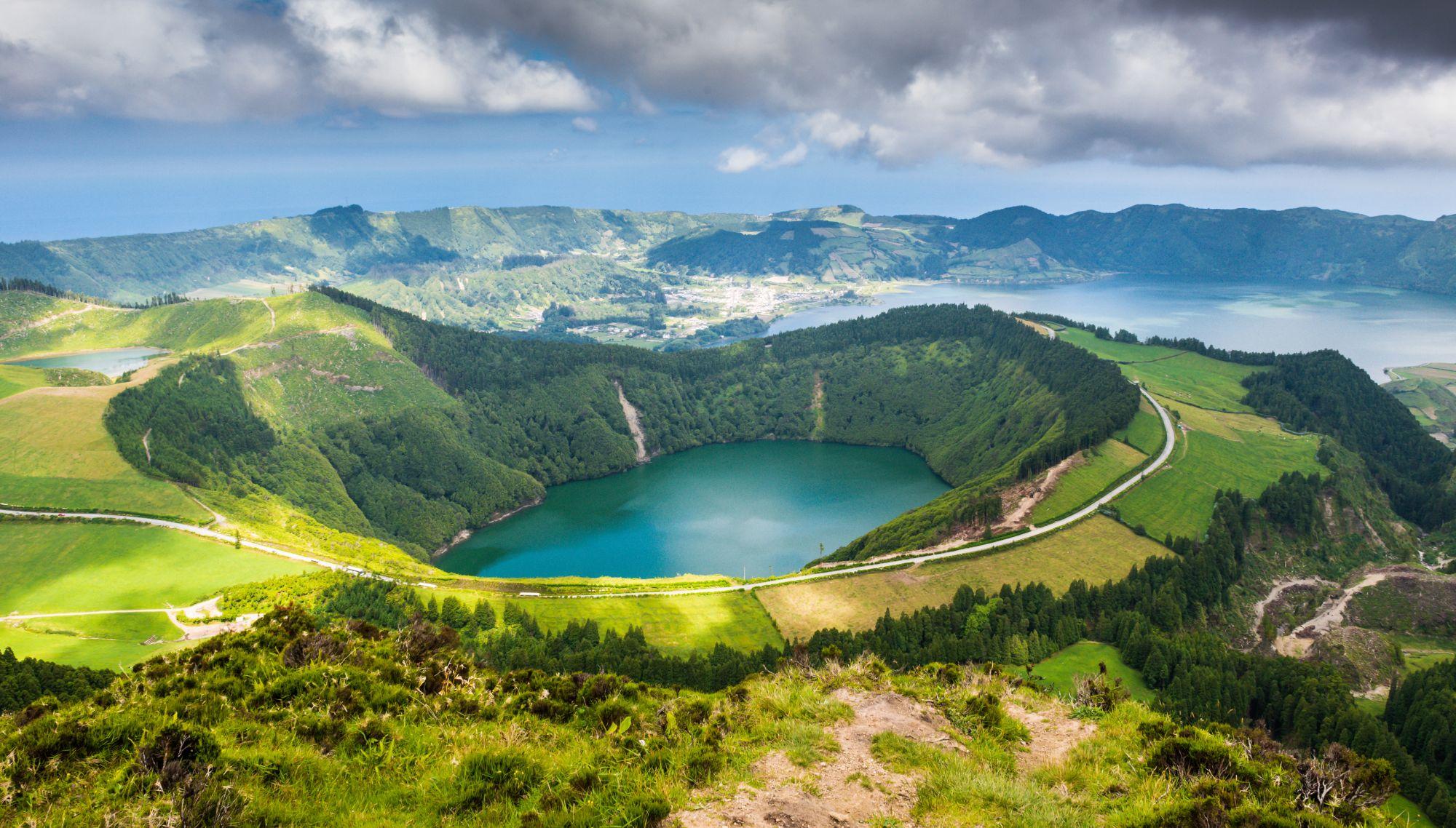 Azory panorama