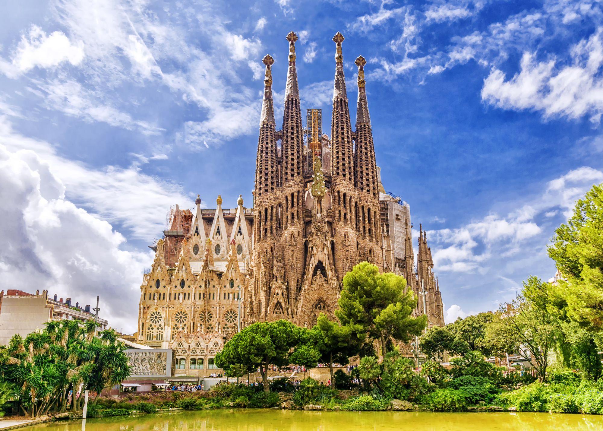Barcelona widok katedry