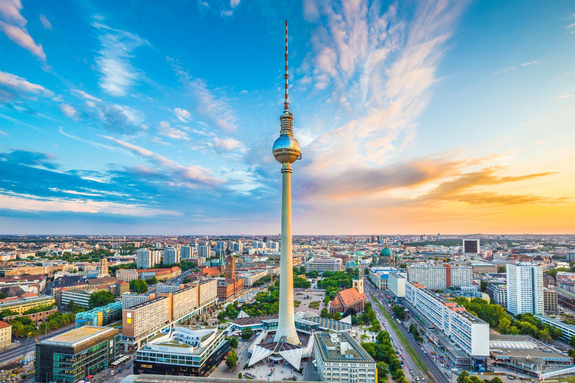 Berlin panorama miasta