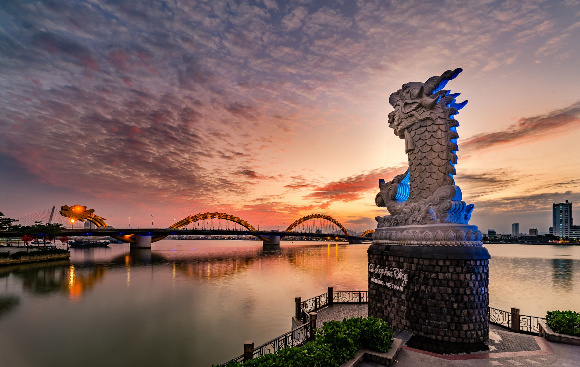 Da Nang widok mostu