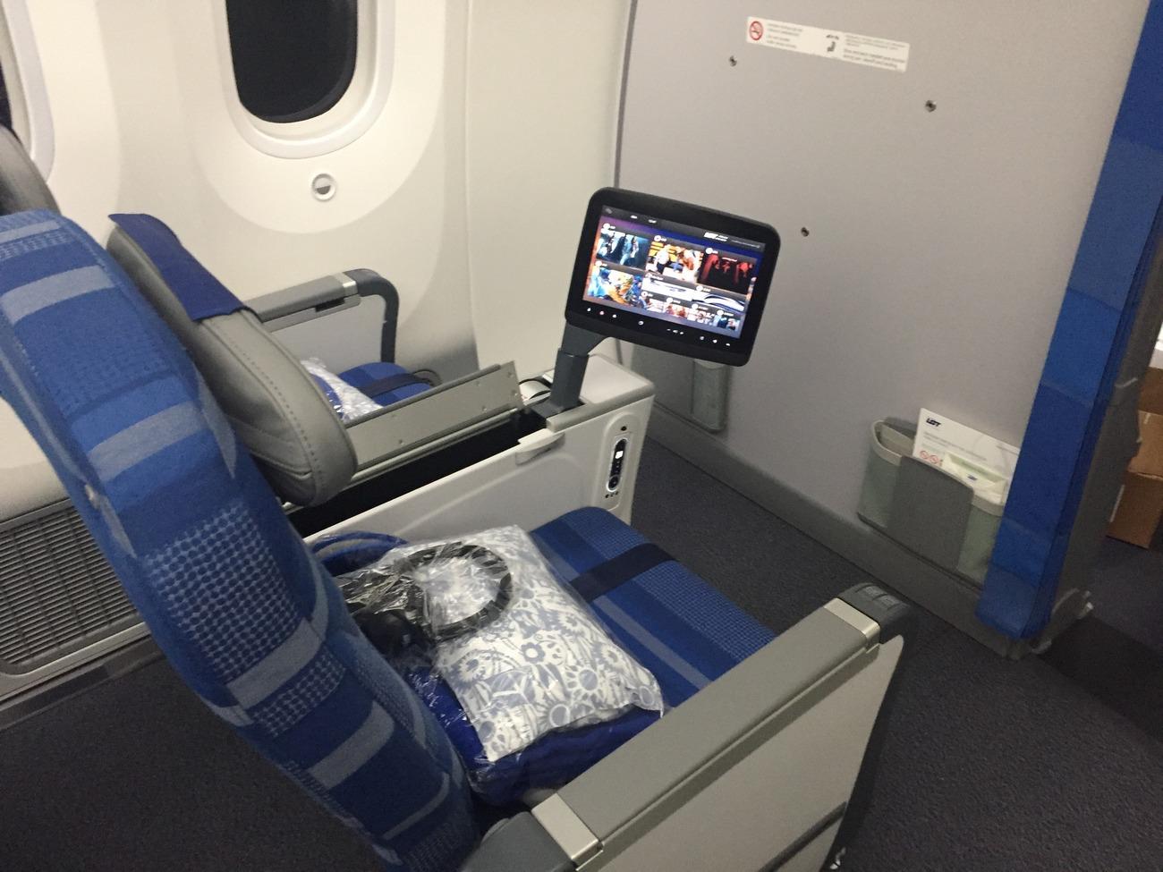 klasa premium economy Dreamliner
