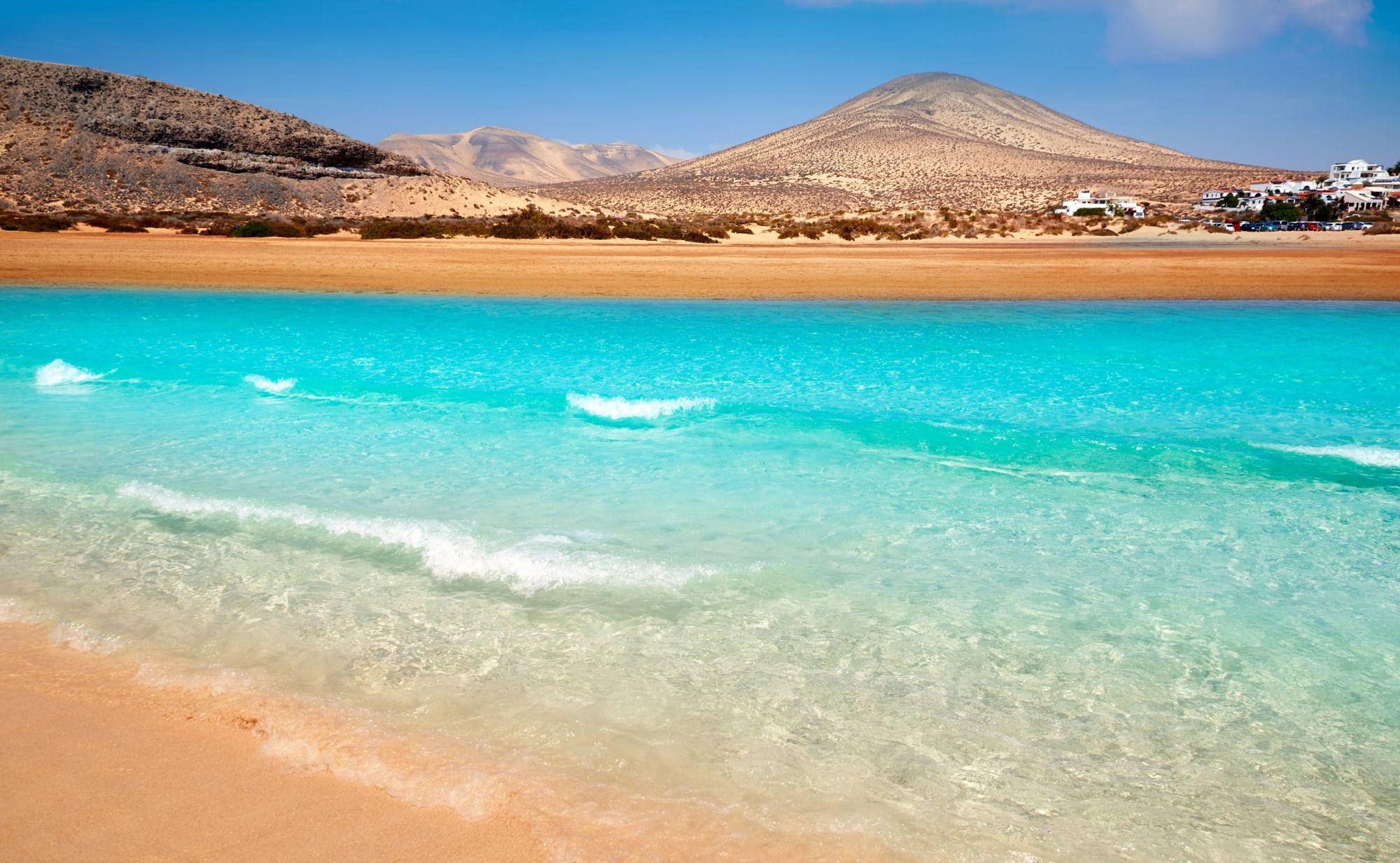 Fuerteventura widok plaży