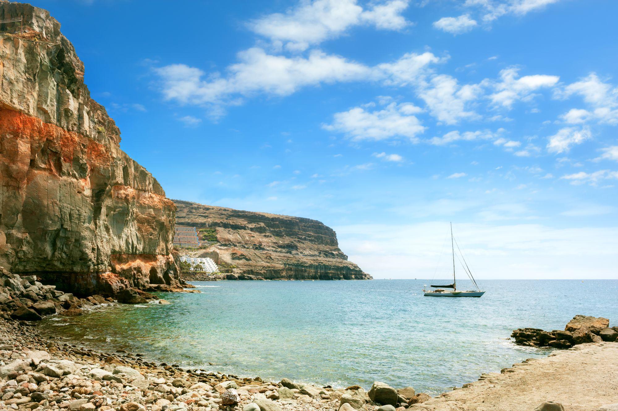 Gran Canaria widok zatoki