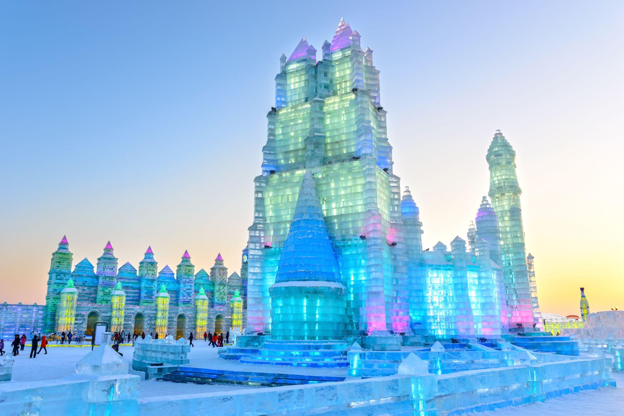 Harbin lodowe rzeźby