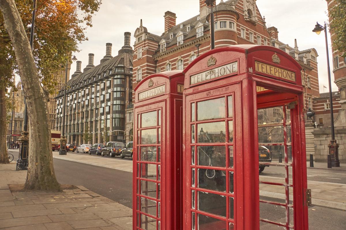 londyn budki