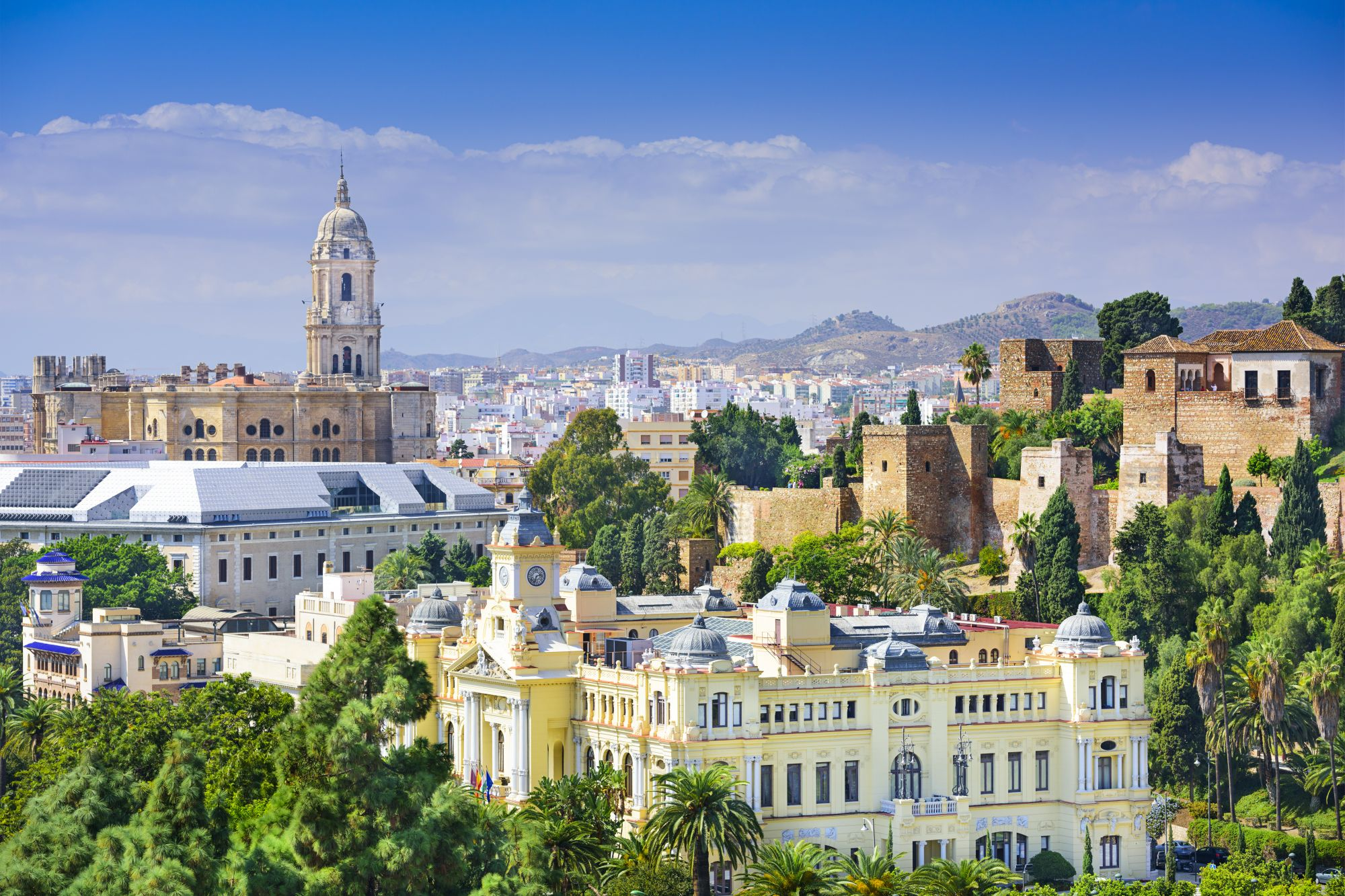Malaga widok miasta