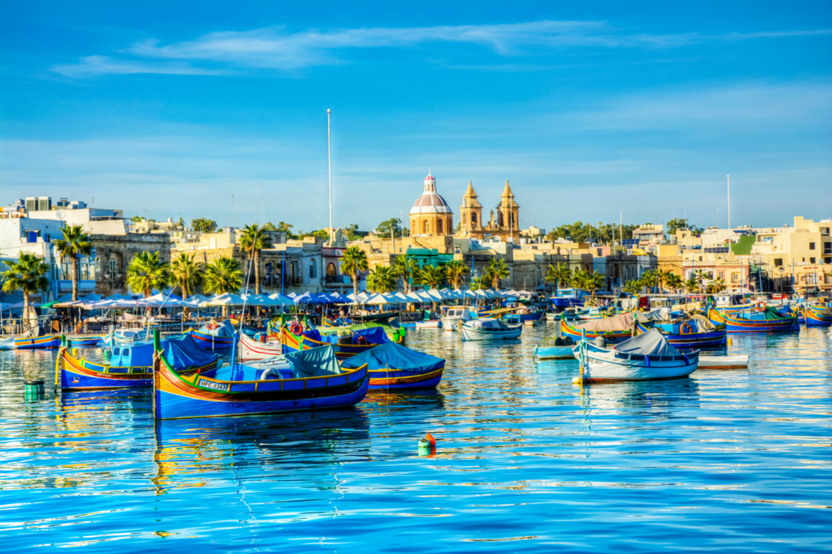 Malta miasto MARSAXLOKK