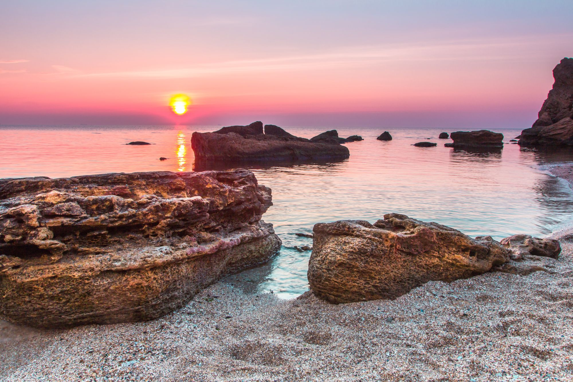 Odessa widok plaży