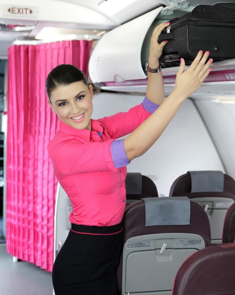 Stewardesa w Wizz Air