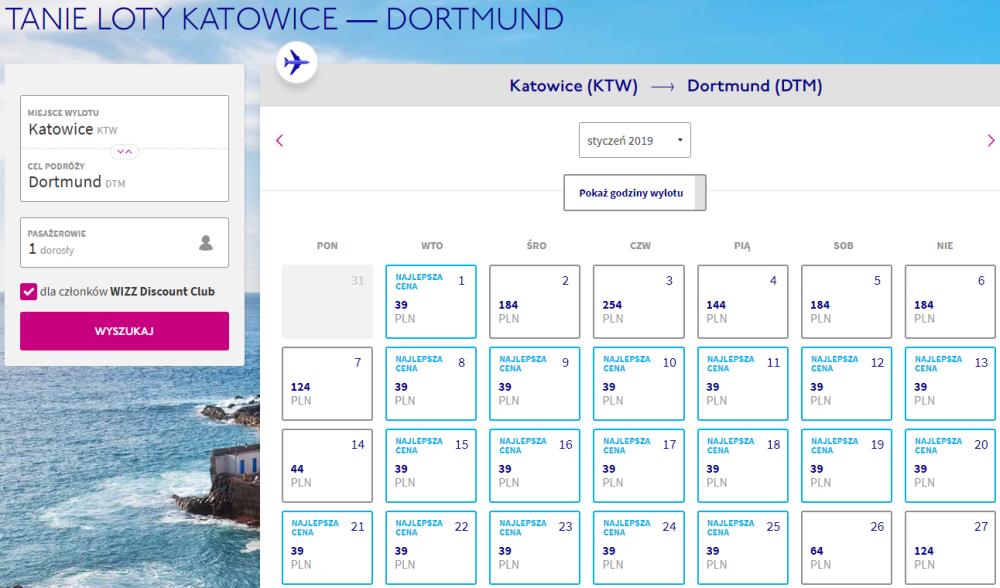 Połączenia do Dortmundu