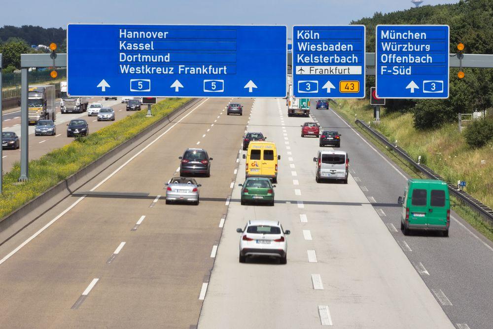 Autostrada w Niemczech