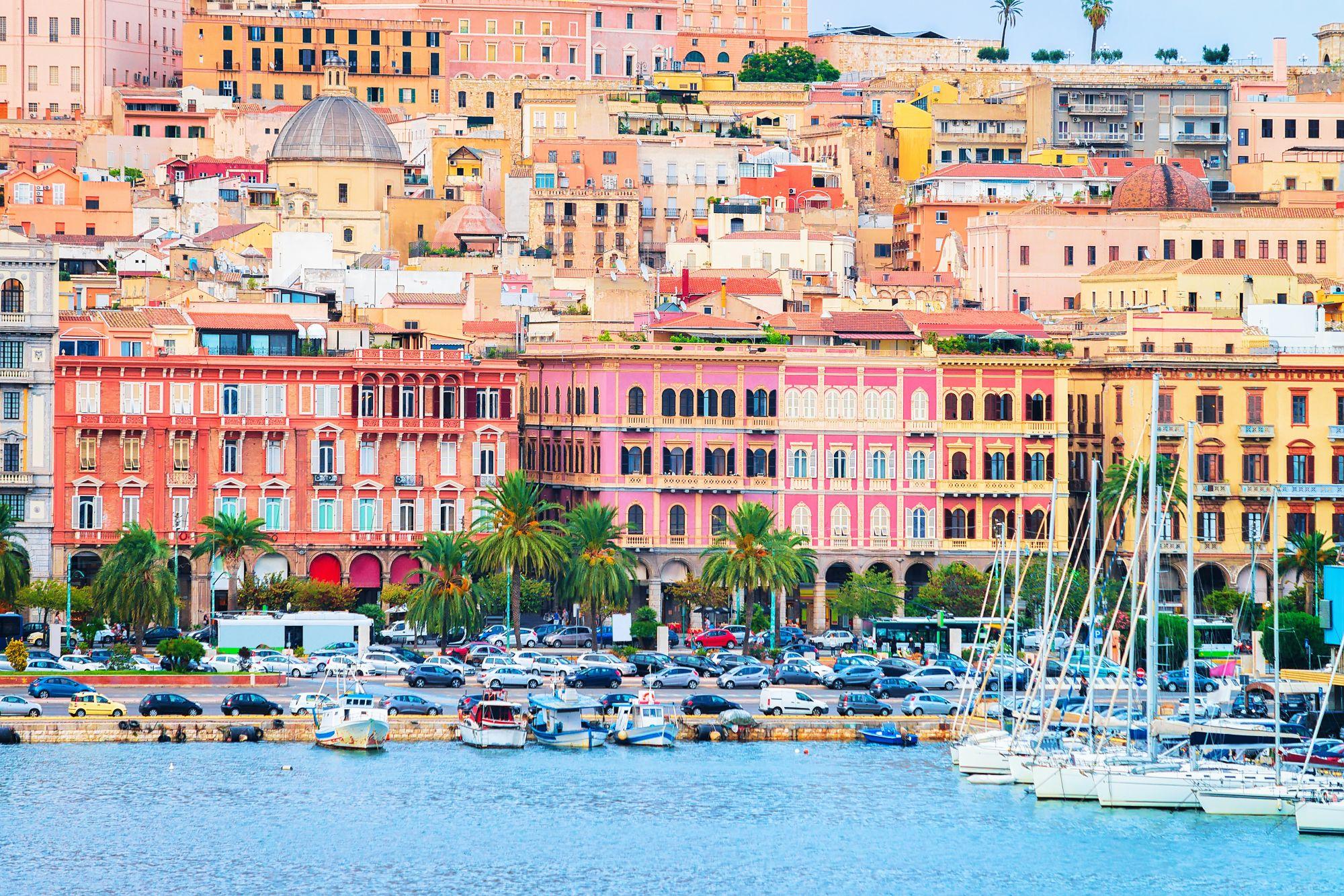 Sardynia widok Cagliari