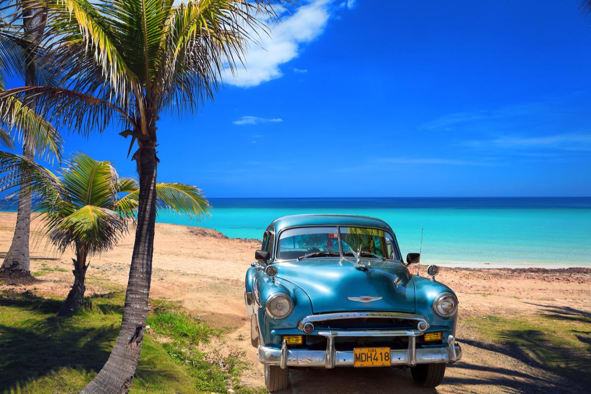 Varadero stare auto i plaża