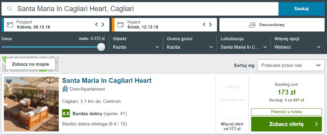 Cagliari noclegi