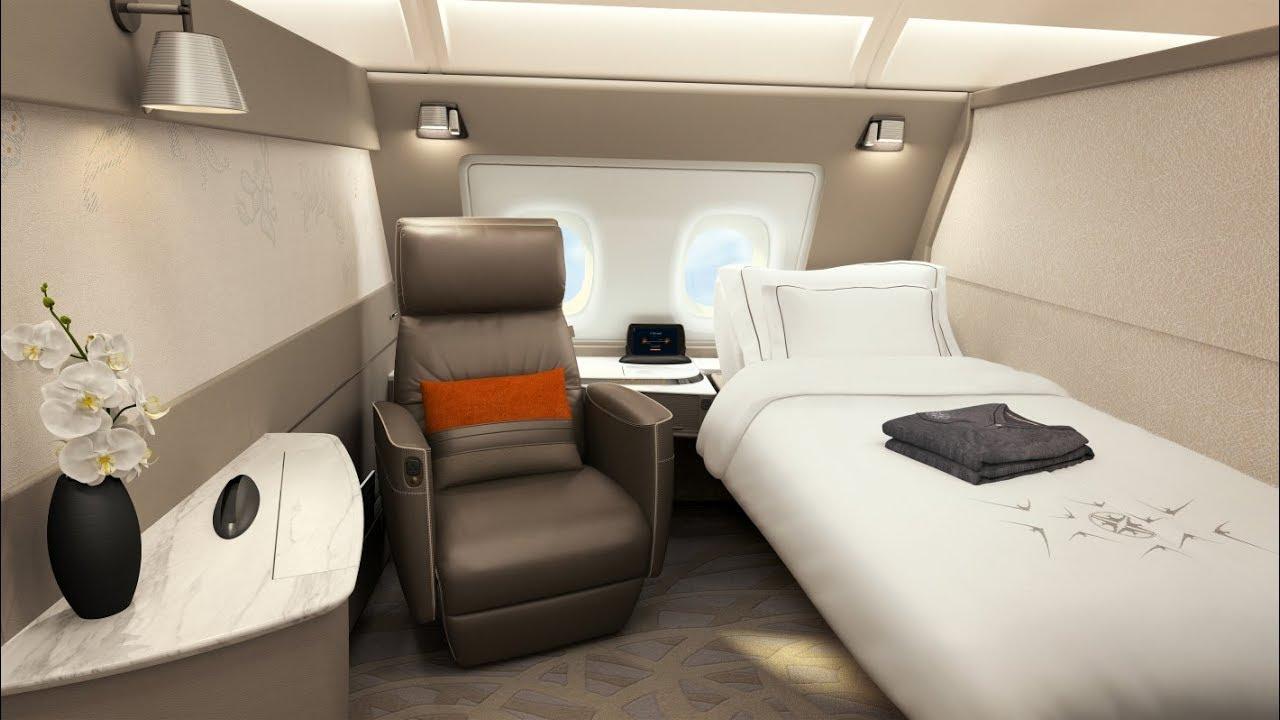 Pierwsza klasa Singapore Airlines