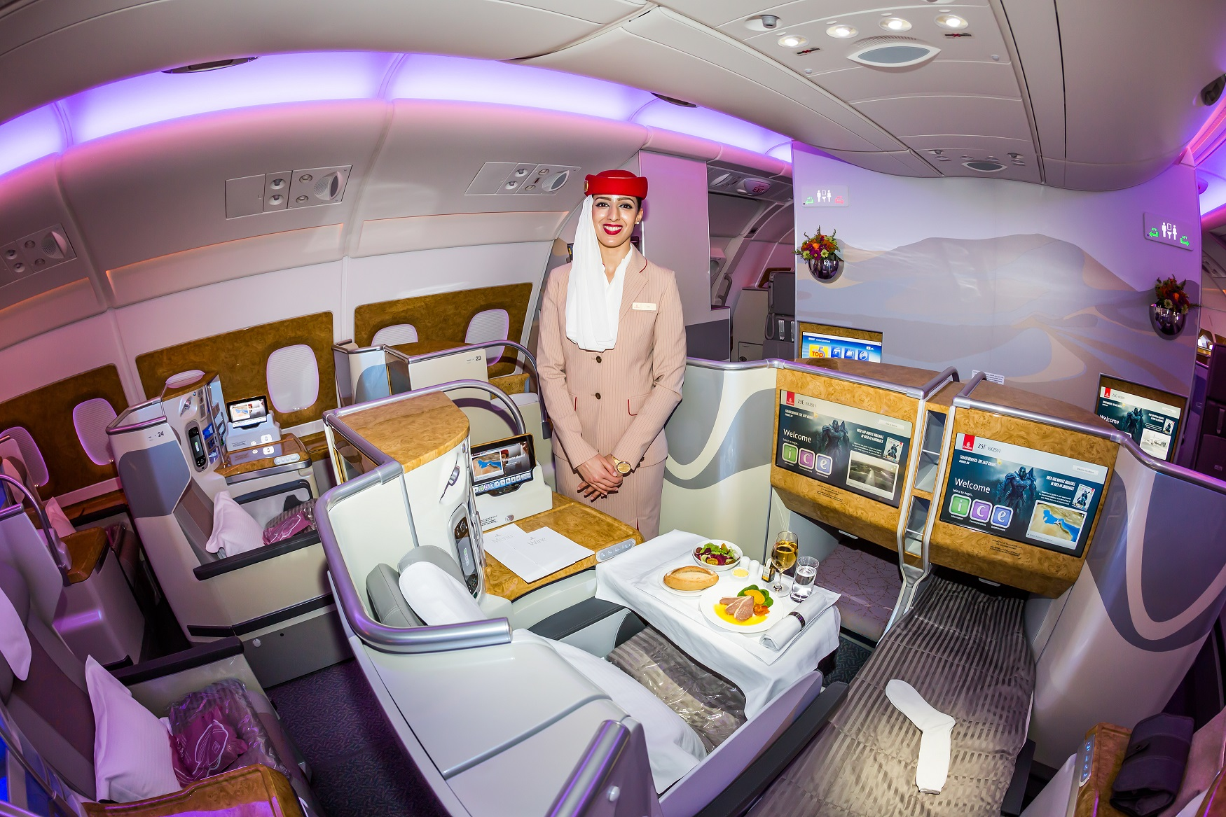 emirates biznes klasa